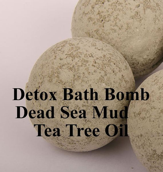 This is one of our all natural bath bombs that was a special request and that we fell in love with. This bath bomb is made with dead sea mud and tea tree essential oil. Dead sea mud is renowned for its skin healing properties. Dead Sea mud is a very unique mud - it has a very high concentration of beneficial minerals. It contains the 21 essential minerals found in the Dead Sea, 12 of these minerals are unique and found only in the Dead Sea. It also contains many beneficial proteins. Dead…