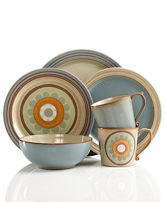 Denby Dinnerware, Heritage Collection.... Absolutely love Denby!!!