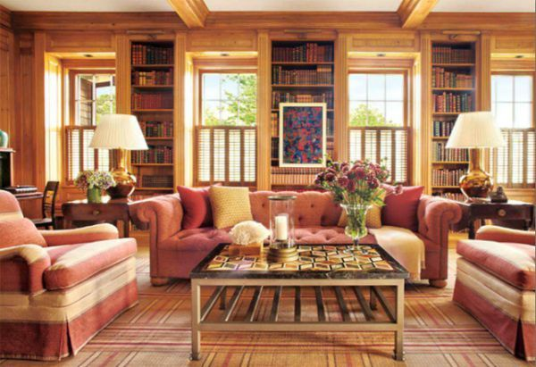 Interior decoration tips for rooms with Knotty Pine Paneling  Hometone