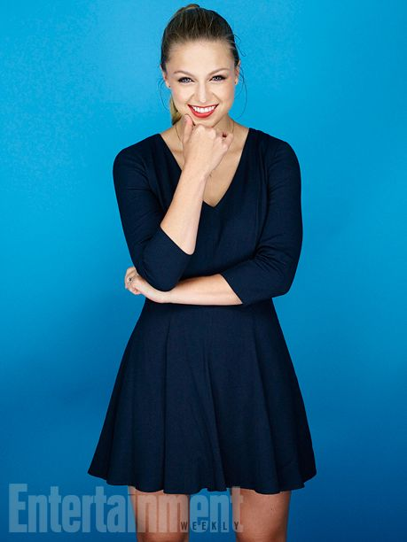 Melissa Benoist, 'Supergirl' #EWComicCon   Image Credit: Michael Muller for EW