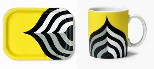 the Keisarinkruunu pattern was designed by Maija Isola in 1966.