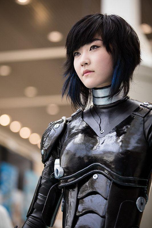 Mako Mori from The Pacific Rim #ax2014