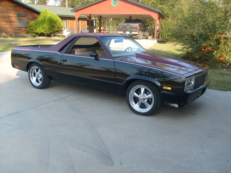 Tommy S 82 El Camino My Rides Cars Chevy Trucks