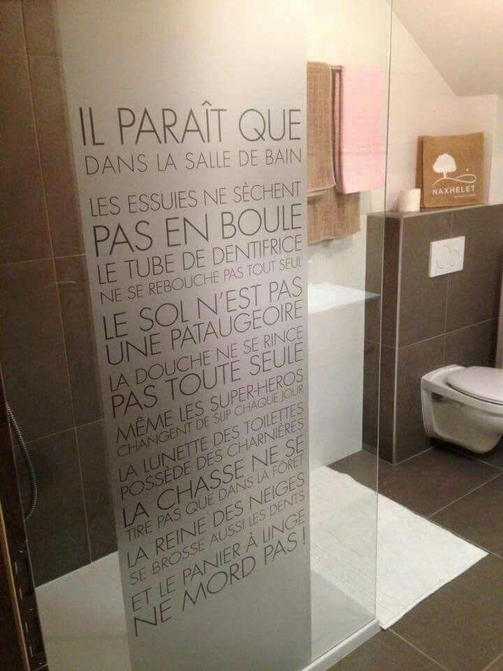 17 best ideas about stickers salle de bain on pinterest - Joint autocollant salle de bain ...