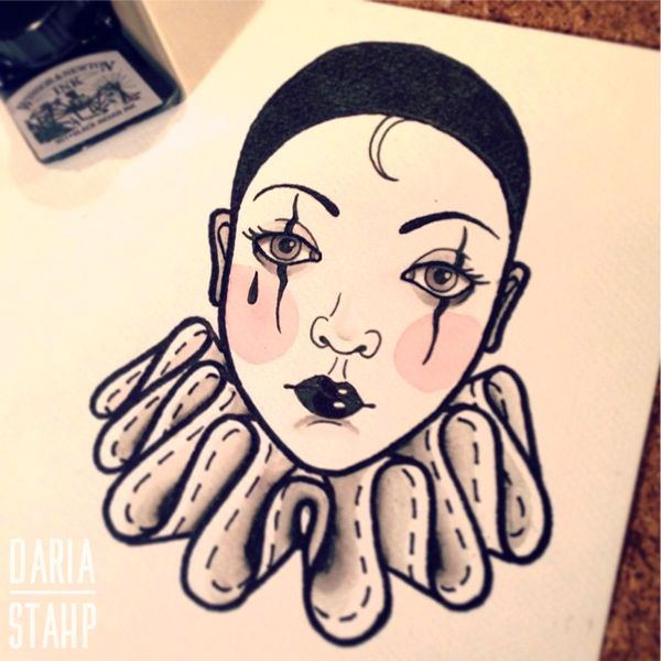 Related image | 226~Pierrot Tattoos ~ and Some Clowns ...