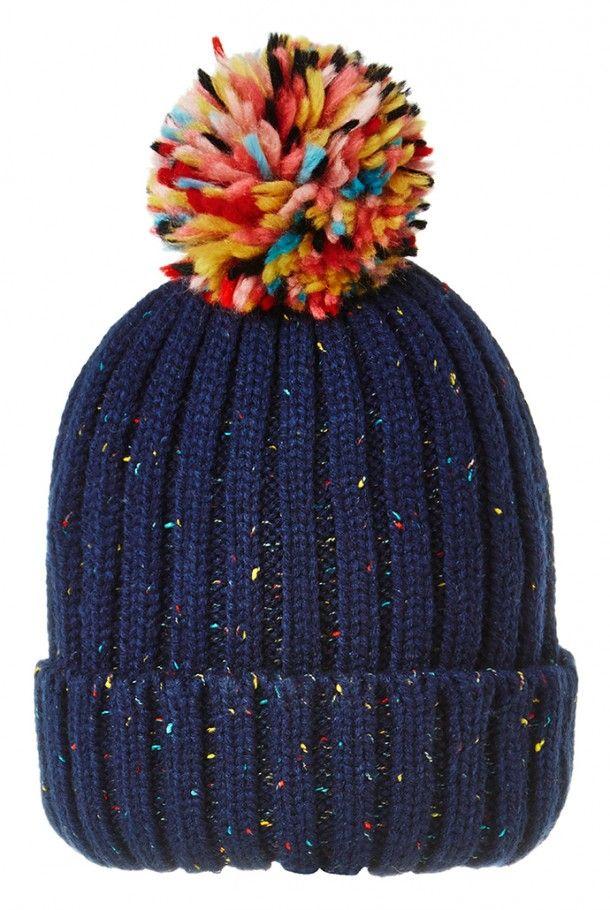 Louche Brice Flecked Bobble Hat