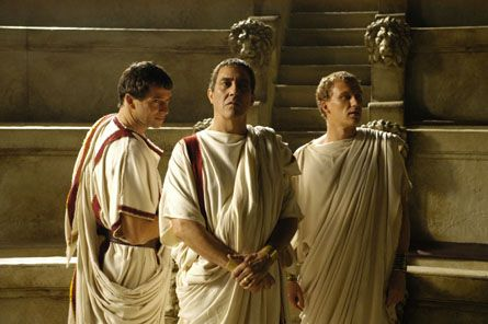 citizen and senator togas from rome tv series roman