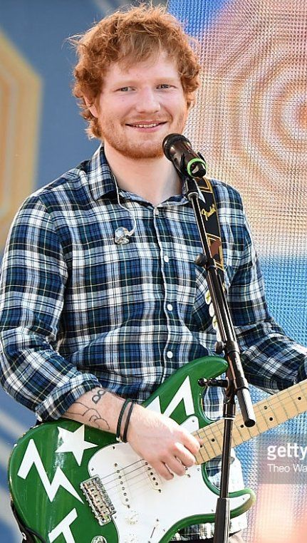 See Ed Sheeran in concert. Bonus points if he sings Kiss Me.