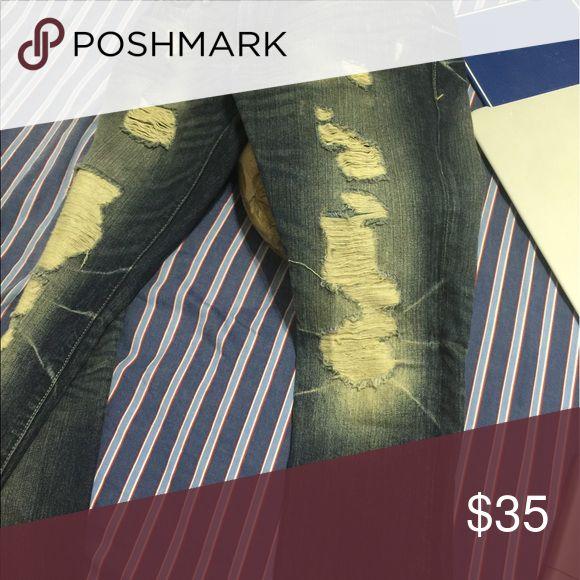 express mens distress jeans rocco slim fit express mens jeans rocco slim fit size 28x30 Express Jeans Skinny