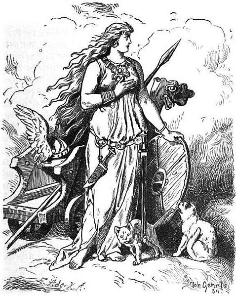 Behind the Name: Meaning, origin and history of the name Freya