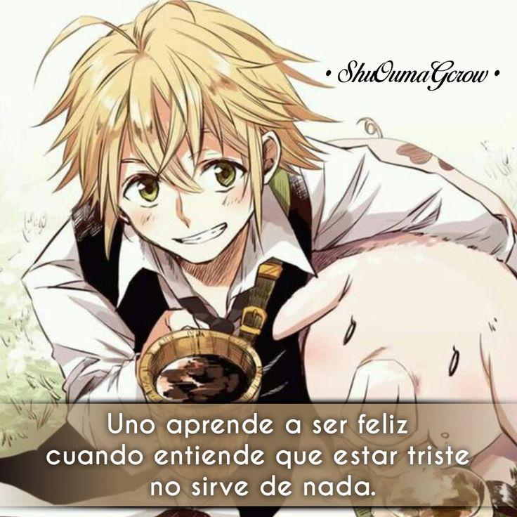 Uno aprende #ShuOumaGcrow #Anime #Frases_anime #frases