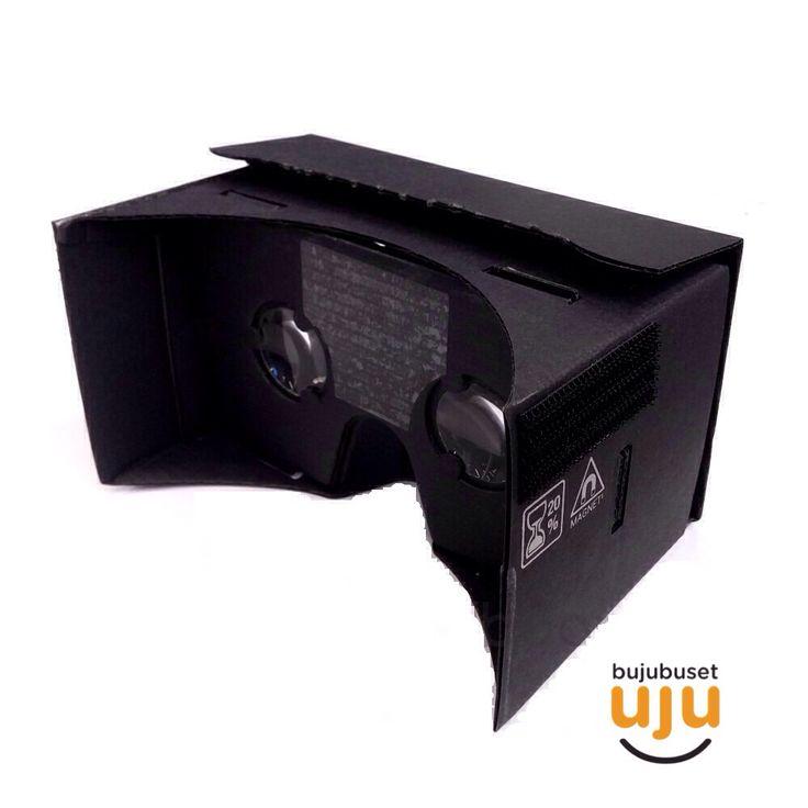 """Waterproof Edition (black) IDR 260.000. Deskripsi produk: lensa lebih jernih & tahan baret; kualitas cardboard lebih kuat dan presisi; packaging dengan instruksi lengkap, ada 3D token; headband bawaan; terdapat stiker """"oil-repellent"""" di bagian dahi."""