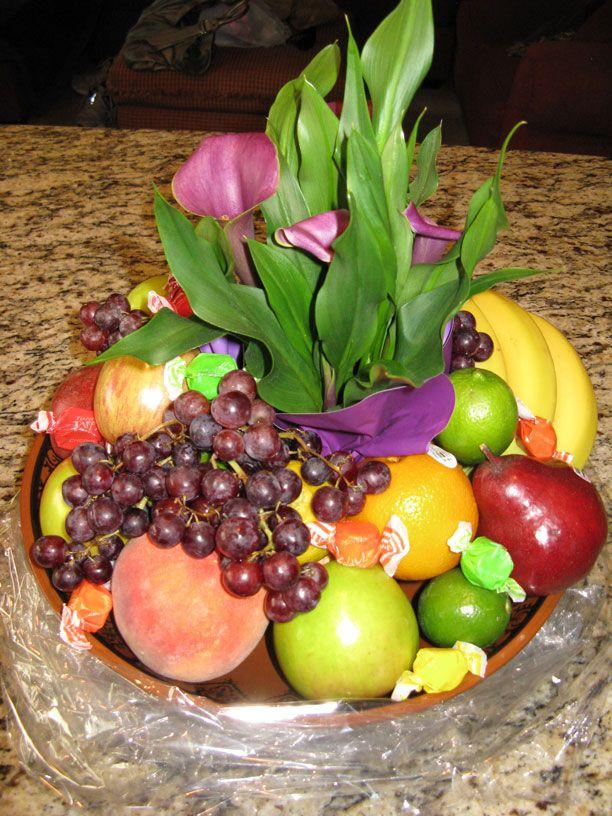 How To Make A Flower Fruit Basket : Moroccan spicy olive orange salad recipe baskets make