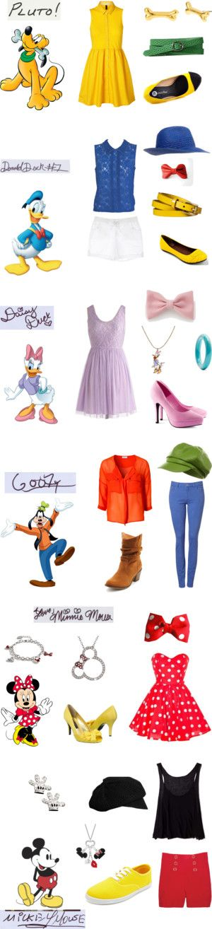 """Mickey and Friends"" by mutt81 on Polyvore"