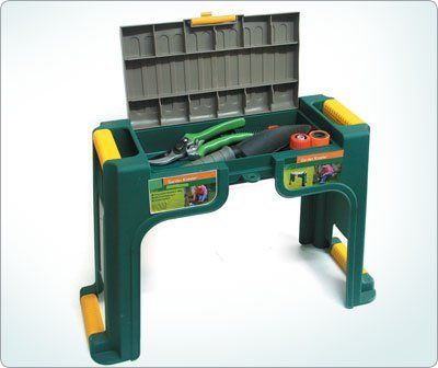 Multi use garden kneeler - Use as a stool or kneeler - Storage compartment for tools & 26 best Stools images on Pinterest | Shop stools Garden stools ... islam-shia.org