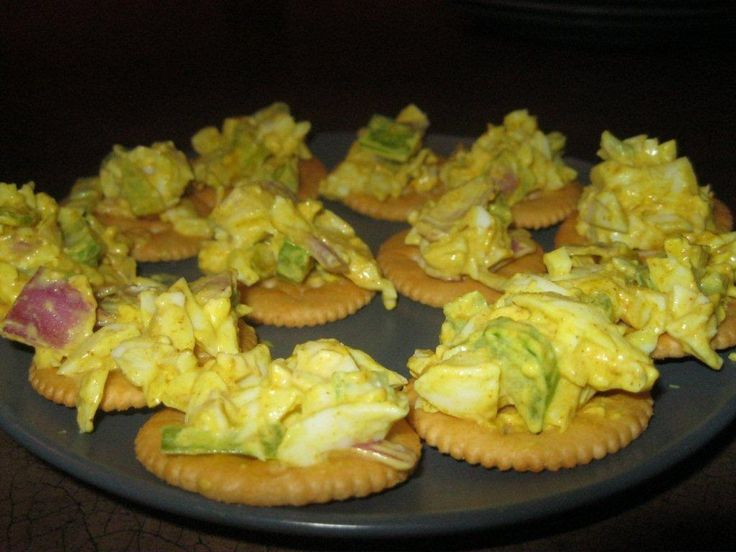 Egg salad to go.