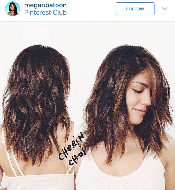 Short Hair. Wavy.