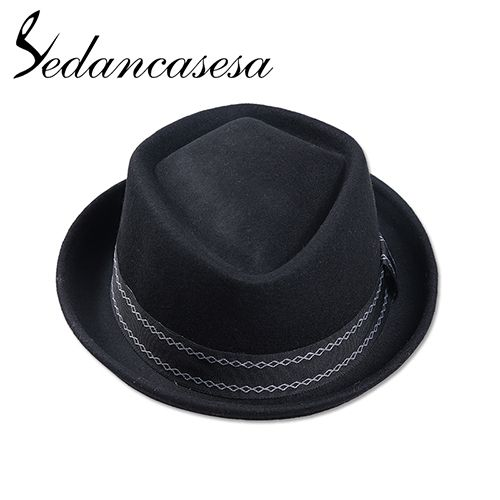 Winter Autumn Fedora Hats Keep Warm Christmas Gifts Fashion Hats For Men Australia Wool Felt Hat box packet FM002052 Oh Yeah Visit our store
