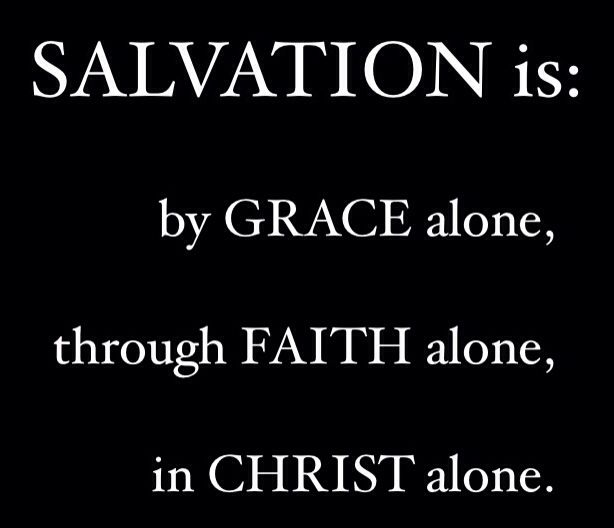 "Ephesians 2:8 KJV - ""For by grace are ye saved through faith; and that not of yourselves: it is the gift of God:"" Acts 4:12 KJV - ""Neither is there salvation in any other: for there is none other name under Heaven given among men, whereby we must be saved."""