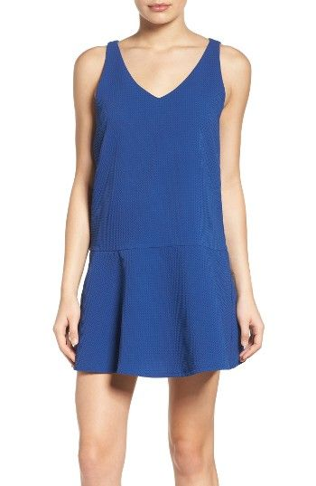 Free shipping and returns on BB Dakota Jarvis Drop Waist Dress at Nordstrom.com. A comfortable and cute dress is made in a textured knit with a swingy drop-waist skirt.