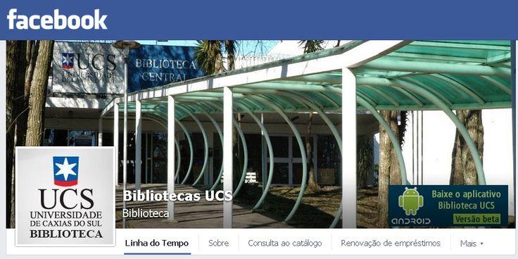 Página da Biblioteca da UCS no Facebook