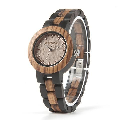 Couple's Zebra Ebony Wooden Watches in Wooden Gift Box ew watch womens for her ladies  Mom mum style internet unique products shops fashion band awesome accessories gift ideas beautiful girls outfit boxes pictures gifts casual For sale buy online Shopping womens Websites montre en bois femme filles maman cadeaux idées originales mode Achat Acheter en ligne Site de vente france USA Canada France Australia