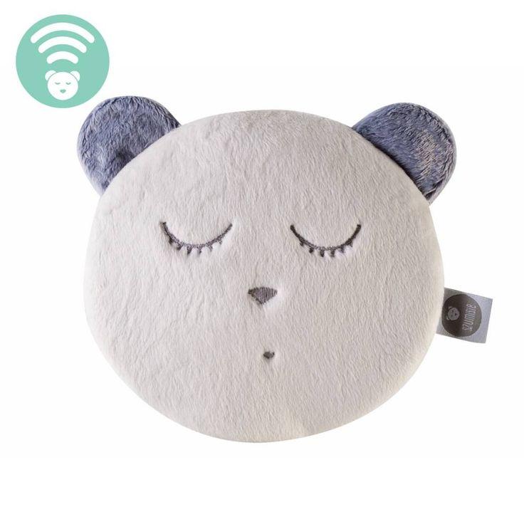 myHummy Petite tête de mascotte qui dort - écru