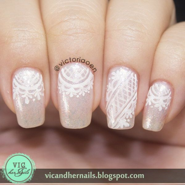 Best 25 lace nail art ideas on pinterest lace nail design pink 60 lace nail art designs tutorials for you to get the fashionable look prinsesfo Images