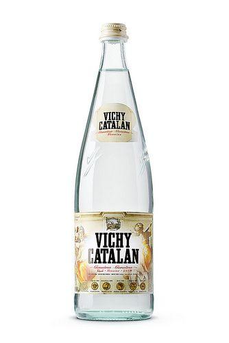 Botella de 1 l. de Vichy Catalán edición limitada dedicada a Michelangelo, el maestro del Renacimiento