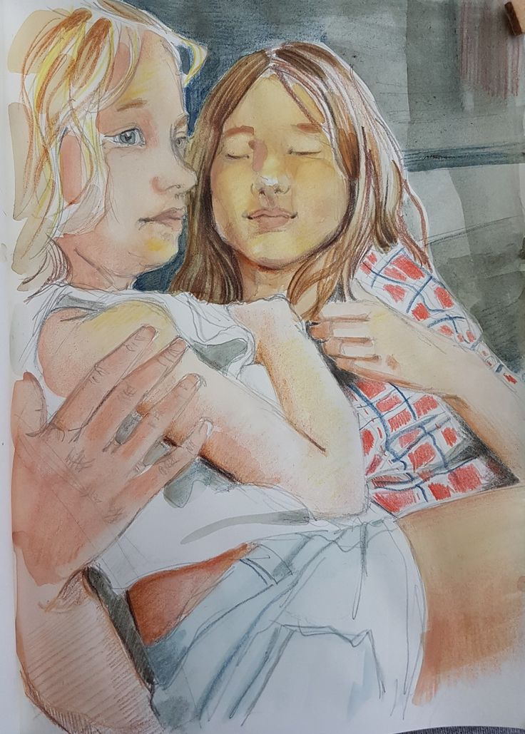 #drawing. #watercolour   By Maria Tomczak