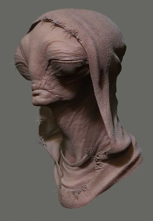 Peasant Alien 2 by Ikameka.deviantart.com on @deviantART