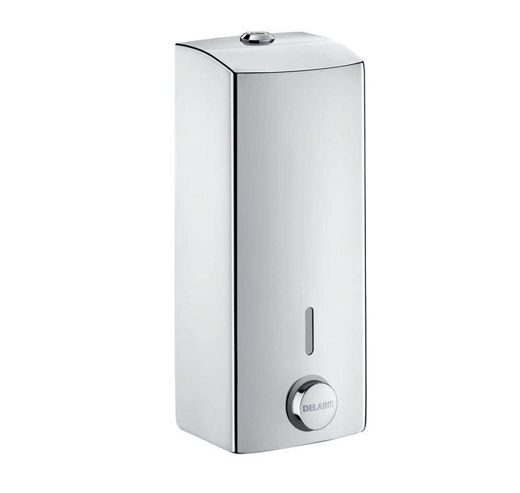 commercial liquid soap dispenser wallmounted stainless steel delabie