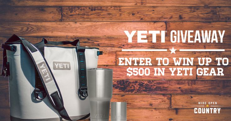 Enter+the+Wide+Open+Country+$500+YETI+Giveaway!+