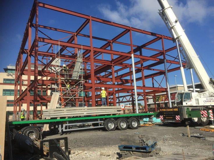 Flood Precast provided 9000m2 of Precast Concrete Flooring and Stairs for Dublin Development