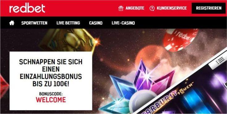 Casino Bonus Code Redbet