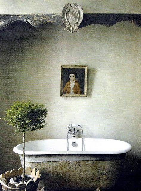 dreamy bath: Modern Bathroom Design, Decor Bathroom, Bathtubs, Clawfoot Tubs, Rustic Bathroom, Beautiful Bathroom, Bathroom Interiors Design, Bathroom Decor, Interiors Design Bathroom