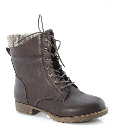 Another great find on #zulily! Coffee Tori Boot #zulilyfinds