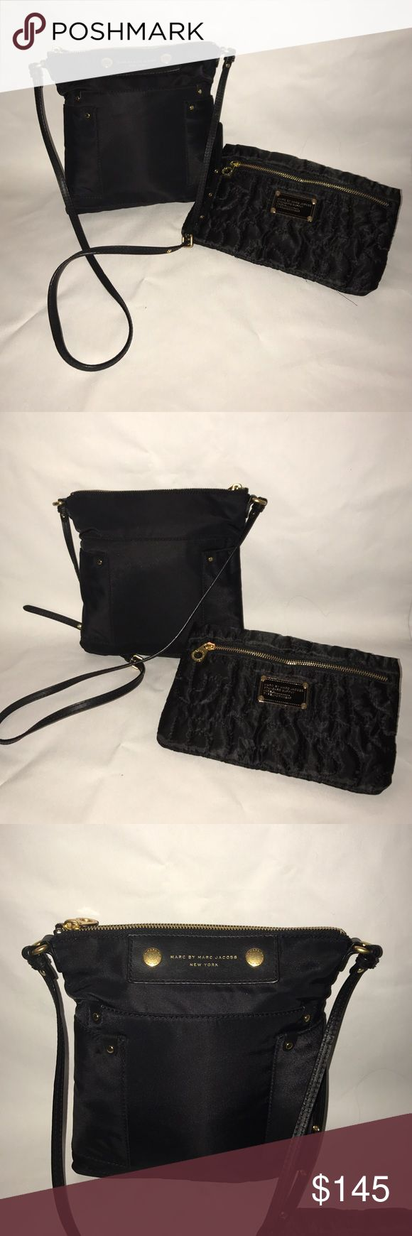 NEW Marc Jacobs Pretty Sia Crossbody with BONUS 😊❣ I sell on multiple sites...If you see something you like, get it before it's gone ❣😊  Both are BRAND NEW.  🔹 The Sia is 💯% Authentic 🔹  The pouch is a bonus. It was my daughter's - might be authentic but I didn't buy it. Therefore, I won't guarantee it's authenticity. Since it's cute & matches the bag, I added it.  🔹 The Sia is Authentic 🔹  💕 I send PREMIUM skin products with every item!  💕 All of my items are carefully wrapped in…