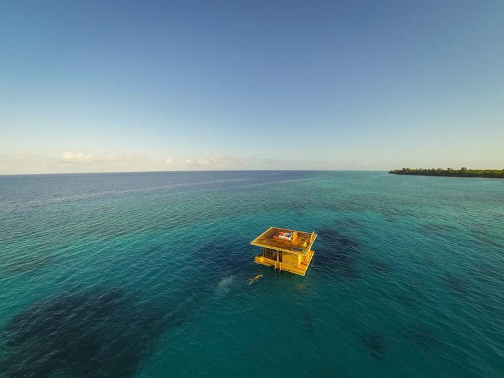 Уединенный отдых: подводный номер в Индийском океане