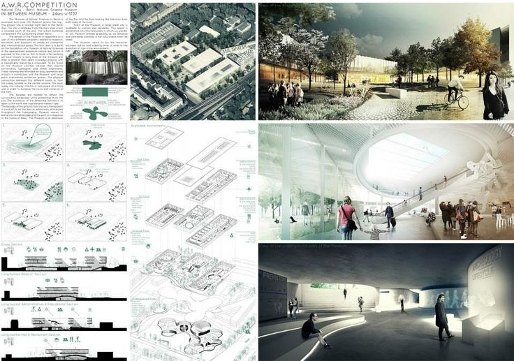 [A3N] : Natural City - Berlin Natural Science Museum (1st : IN BETWEEN MUSEUM ) / Giraud Guillaume ,Balalud De Saint Jean Hadrien ,Laure Johan ( France )