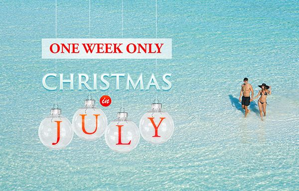 Christmas Week Vacation Deals