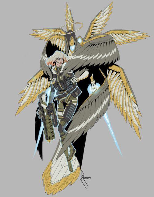 Cool Tactical Angel