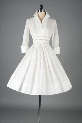 Vintage 1950s Dress - Fashion and Love  Not a tutorial or a pattern, but I'd make one if I could - long sleeve tight black dress, funky dresses, party maxi dresses *sponsored https://www.pinterest.com/dresses_dress/ https://www.pinterest.com/explore/dresses/ https://www.pinterest.com/dresses_dress/bridesmaid-dresses/ https://www.gucci.com/us/en/ca/women/womens-ready-to-wear/womens-dresses-c-women-readytowear-dresses