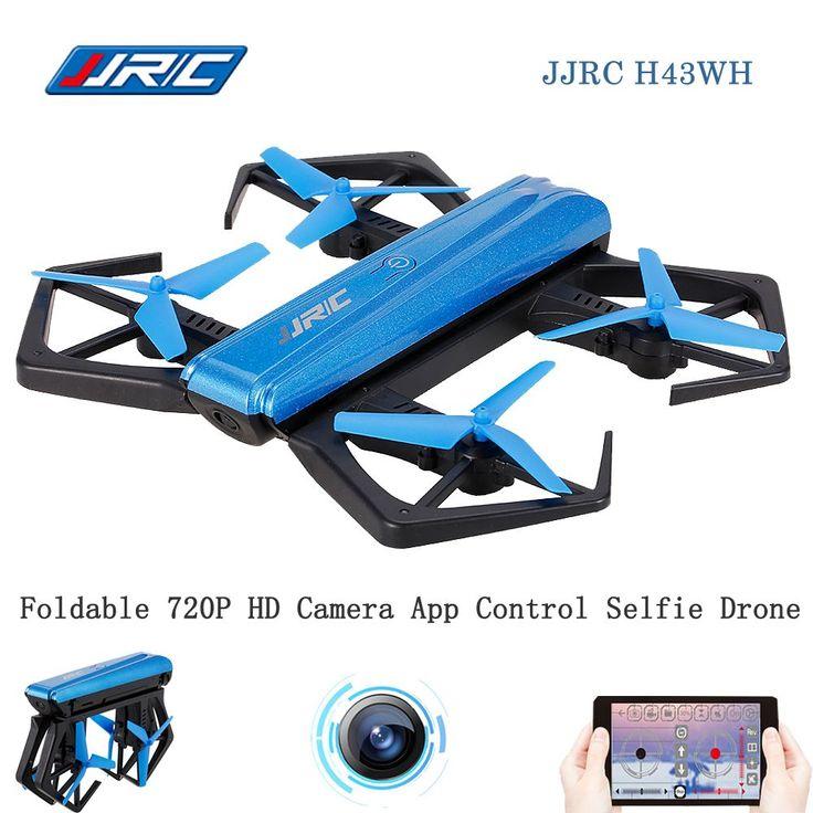 Original JJR/C JJRC H43WH CRAB WIFI FPV 720P HD Camera Mini RC Selfie Drone G-sensor Foldable Quadcopter APP Control Helicopter //Price: $47.99//     #gadgets