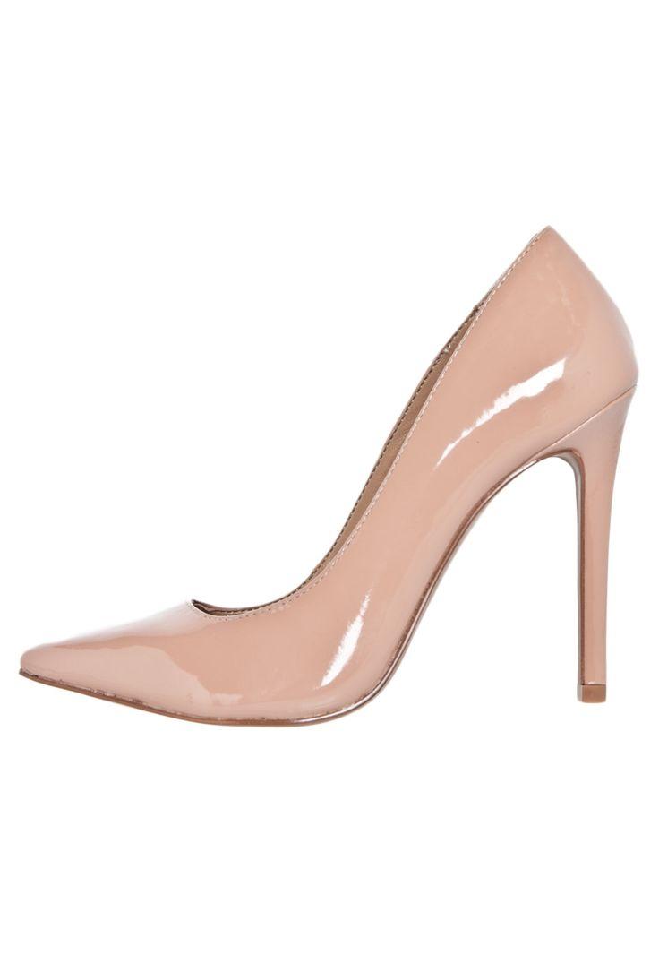 Scarpin My Shoes Verniz Bege - Compre Agora   Dafiti Brasil