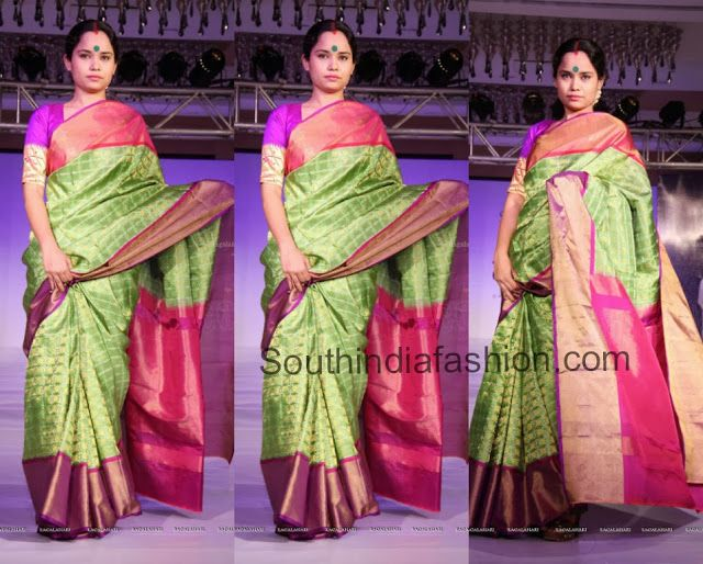 Designer Bridal Saree by Gaurang Shah ~ Celebrity Sarees, Designer Sarees, Bridal Sarees, Latest Blouse Designs 2014