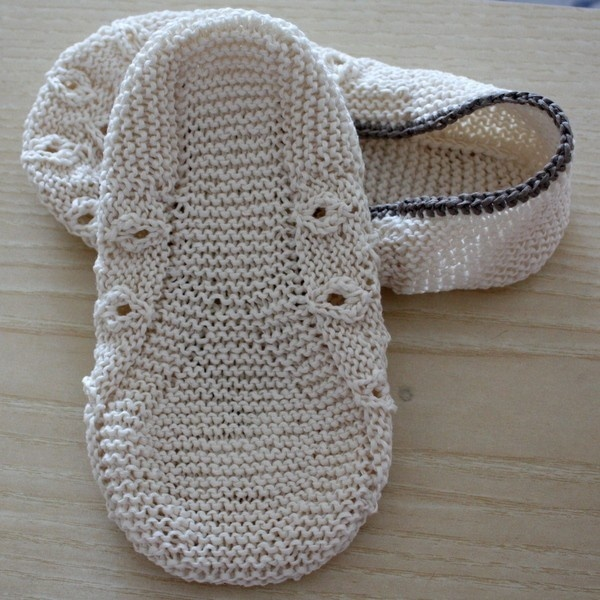 Home Slippers Vanilla (Adult sizes).