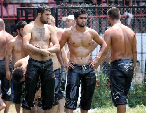 oil-bear-naked-wrestling
