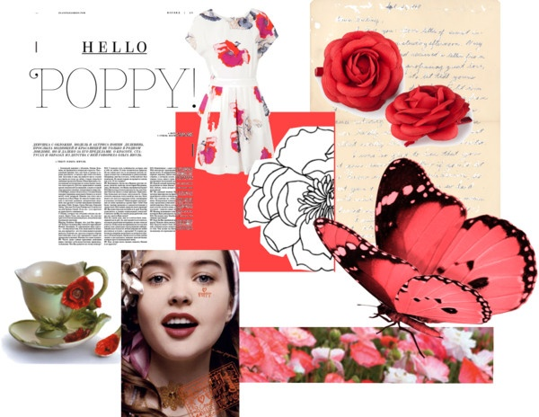 My color of the year: Poppy
