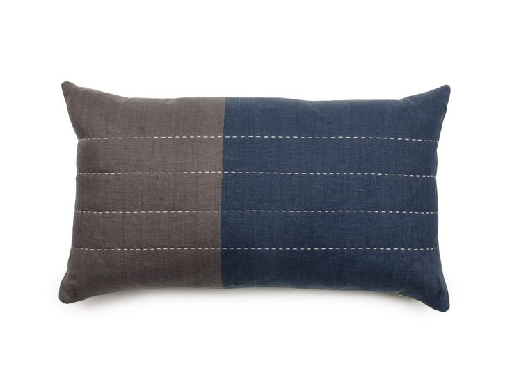 Color Block Lumbar Pillow | Cultivations
